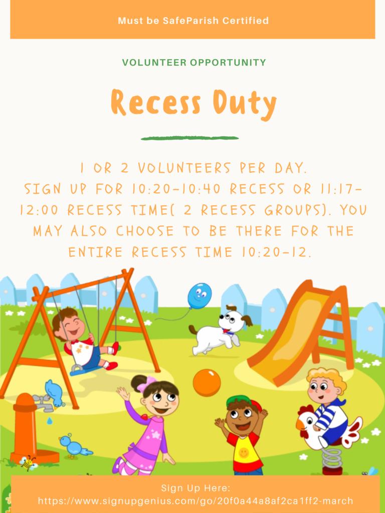 Recess